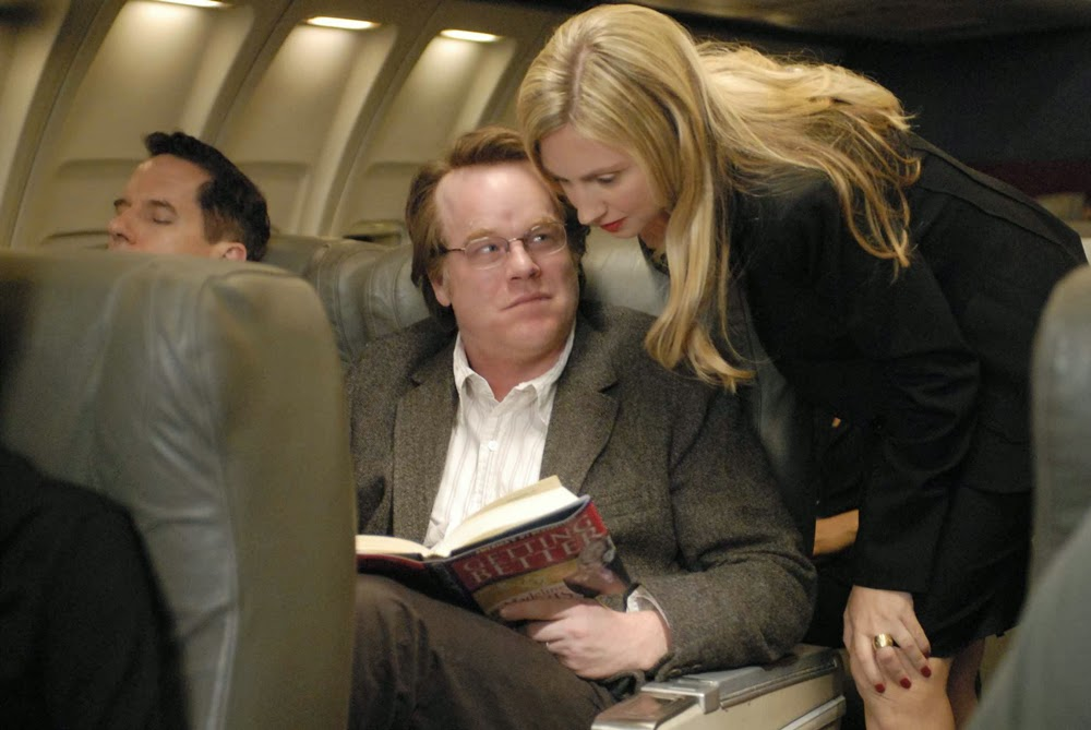 Philip Seymour Hoffman and Hope Davis in Synecdoche, New York