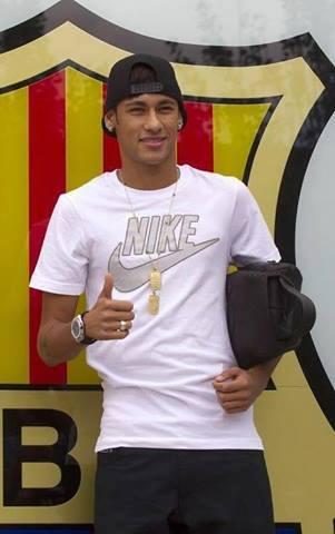 FOTO Neymar JR di BARCELONA