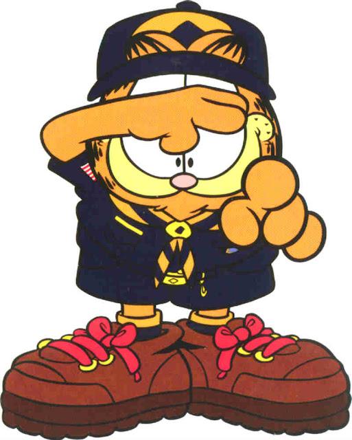Garfield desenho Colorido
