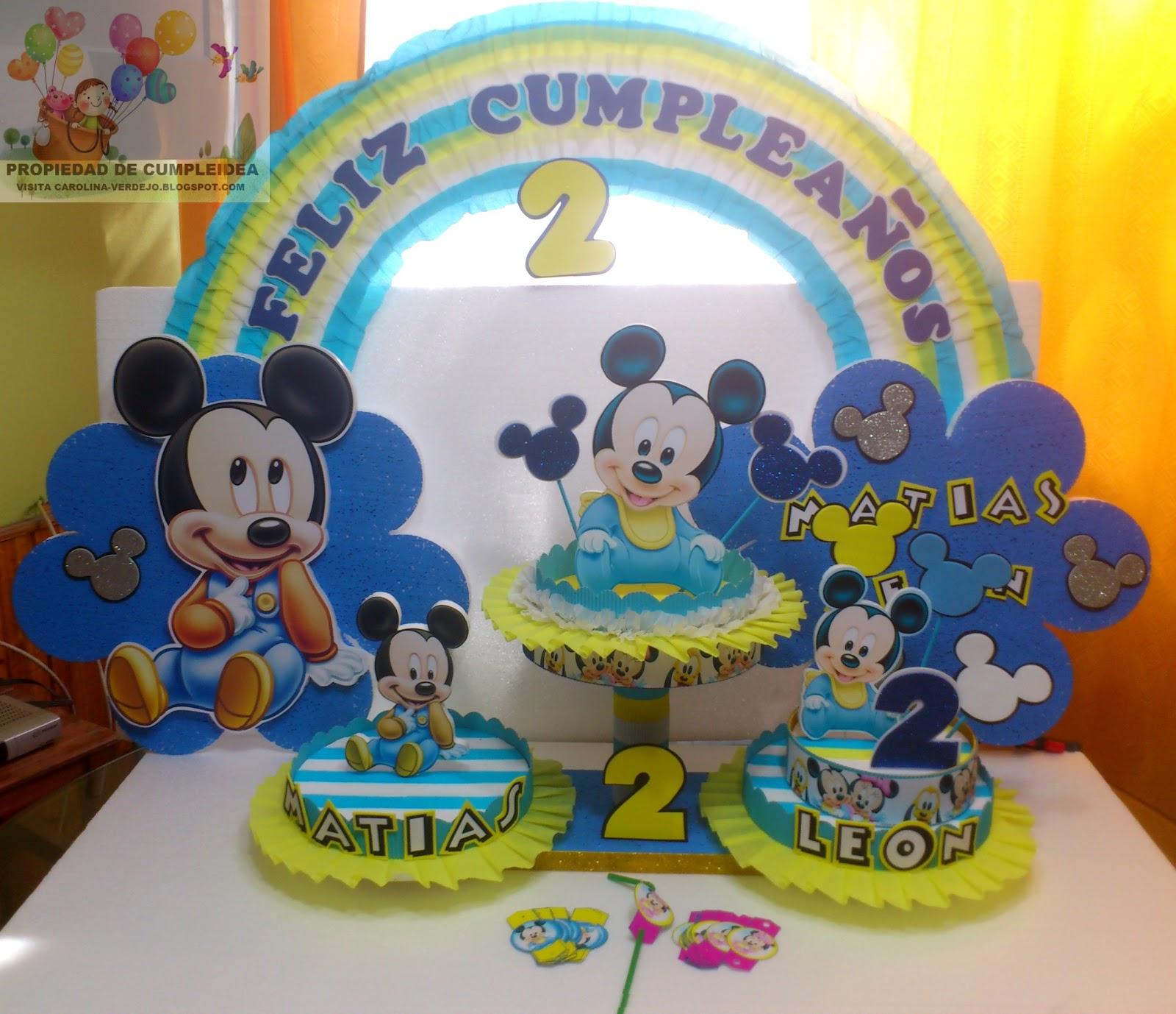 decoraciones infantiles mickey bebe