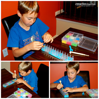 Rainbow Loom Fun & Instructions - fine motor skill development