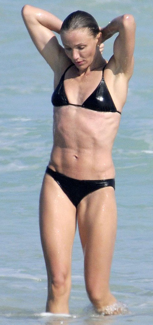 Cameron Diaz Body Builder
