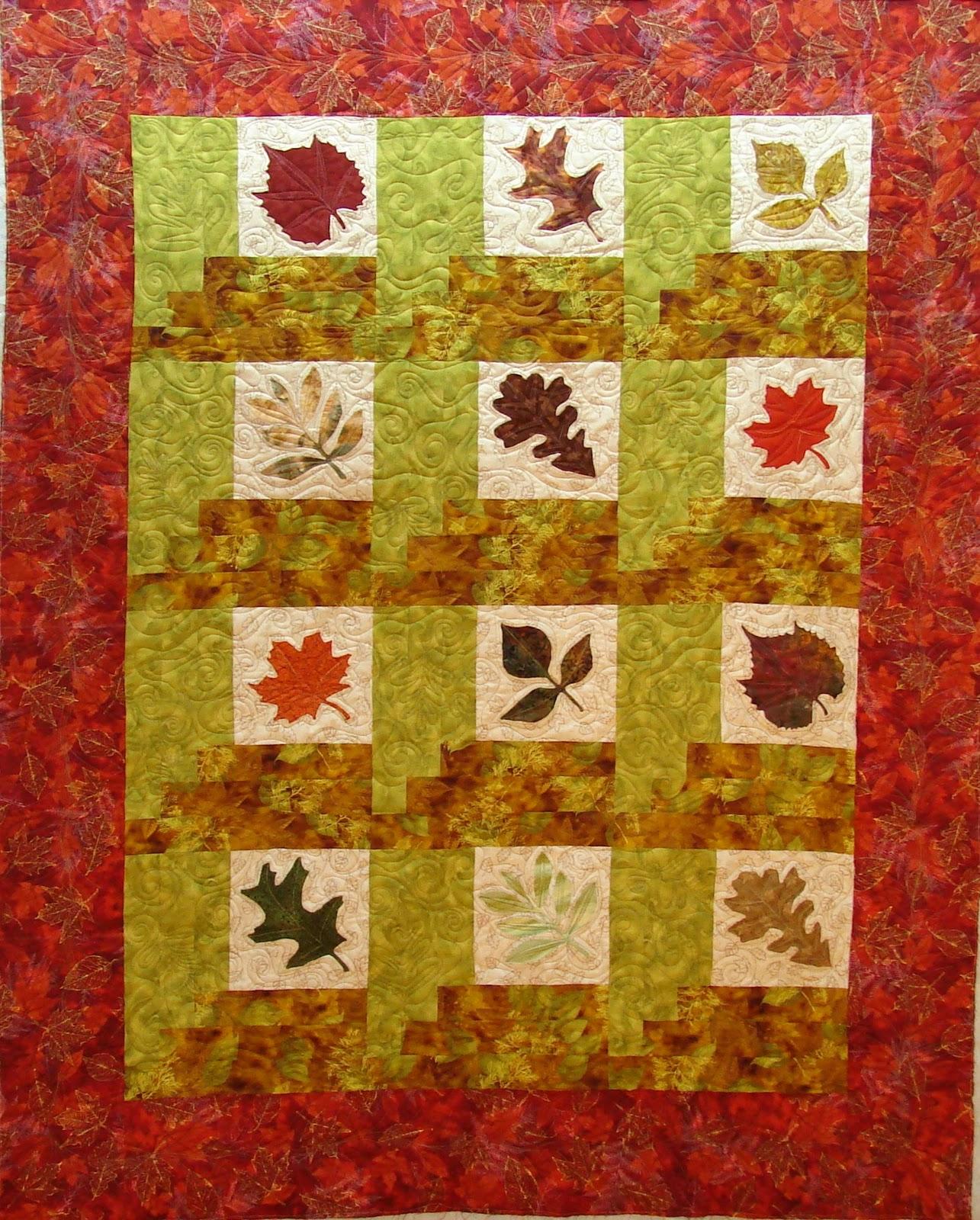 Quilt Vine: Falling Leaves