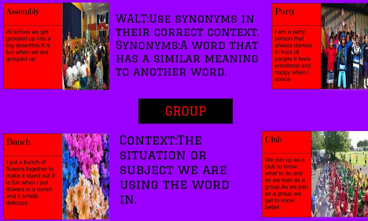 Worksheet. Synonyms Of Group. Wosenly Free Worksheet