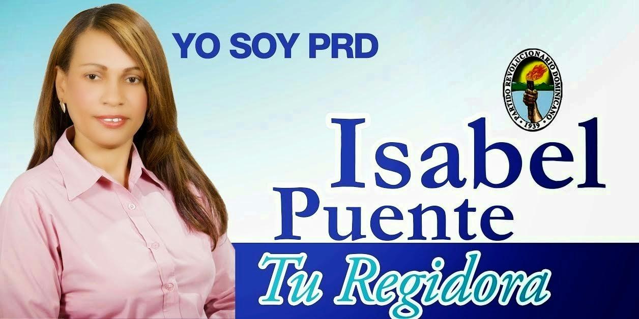Isabel Puente, regidora!