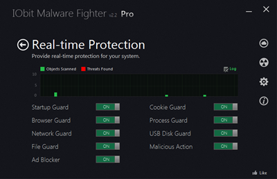 IObit Malware Fighter PRO v2.2.0.16 full with kegen / serial
