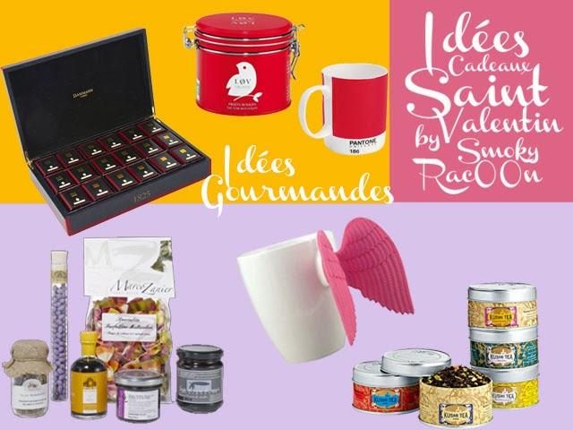 idées de cadeau saint valentin - thé, gastronomie