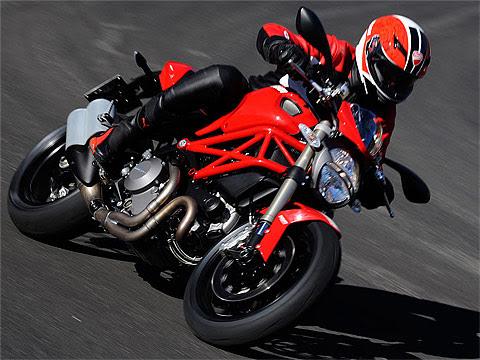 Gambar Motor Ducati 2012 Monster 1100 EVO, 480x360 pixels
