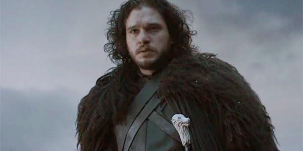Jon Snow con los salvajes en el 5x08