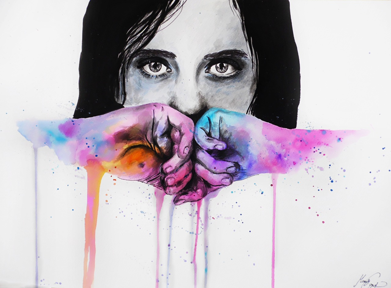 15-Andrea-Wéber-aka-Mandy-Candy-Paintings-A-Mirror-to-the-Artist-s-Emotions-www-designstack-co