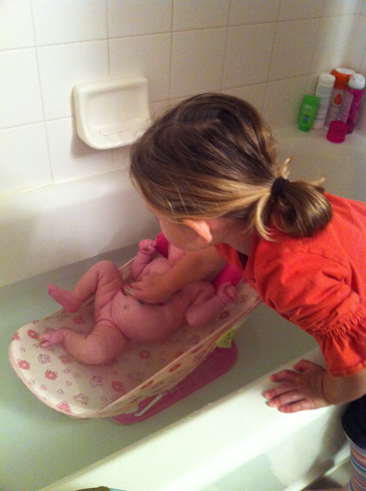Warms a mom's heart to see her daughter's together like this.