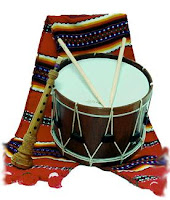 "Some of the more traditional bands might be playing the ""dolçaina"" flute i ""tabal"" drum, traditional instruments of Valencia"