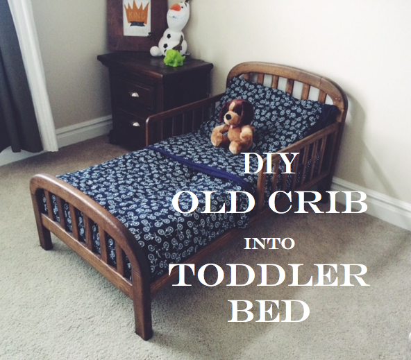 how do i convert crib to toddler bed 1