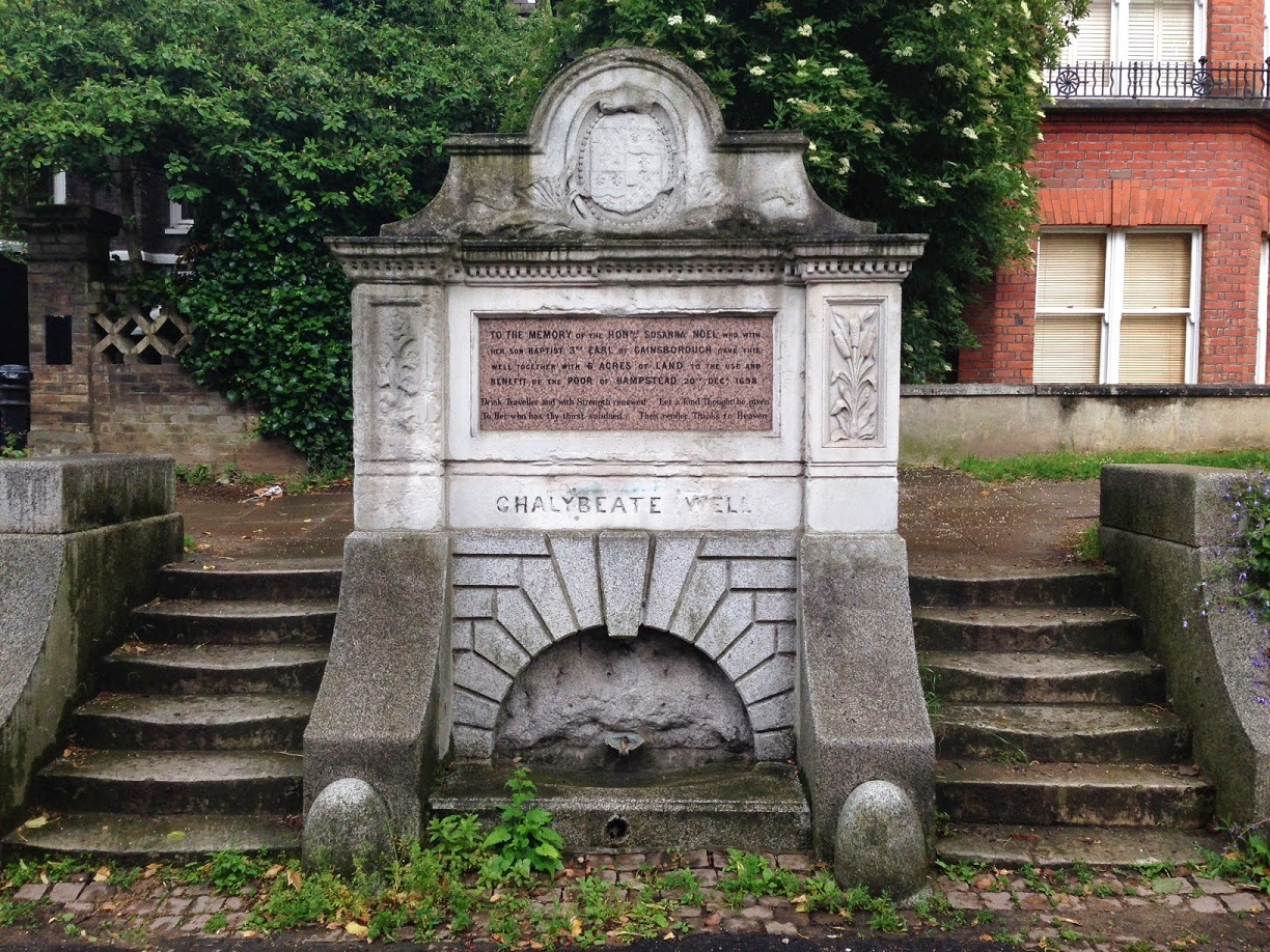 The Chalybeate Well, Hampstead, London NW3