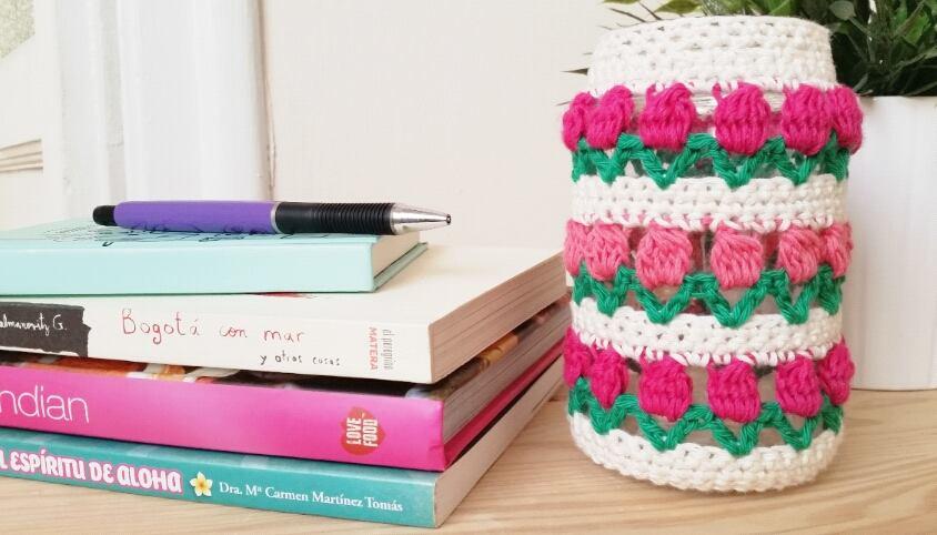 flores florecitas crochet