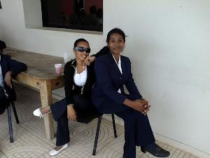Rina Santana ( Yenny)  Y Juana Bautista