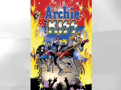 Archie Comics Meets the Rock Band Kiss