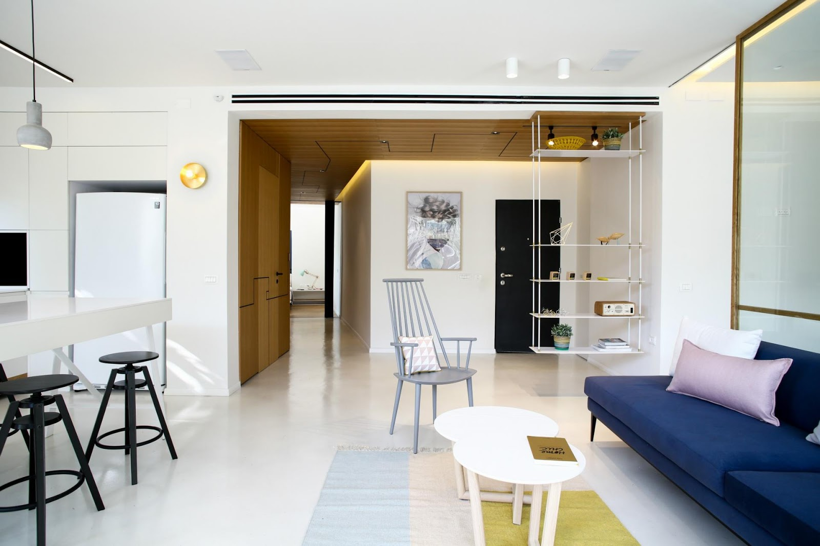 Appartamento di 110mq a tel aviv by dori interior design for Appartamento interior design