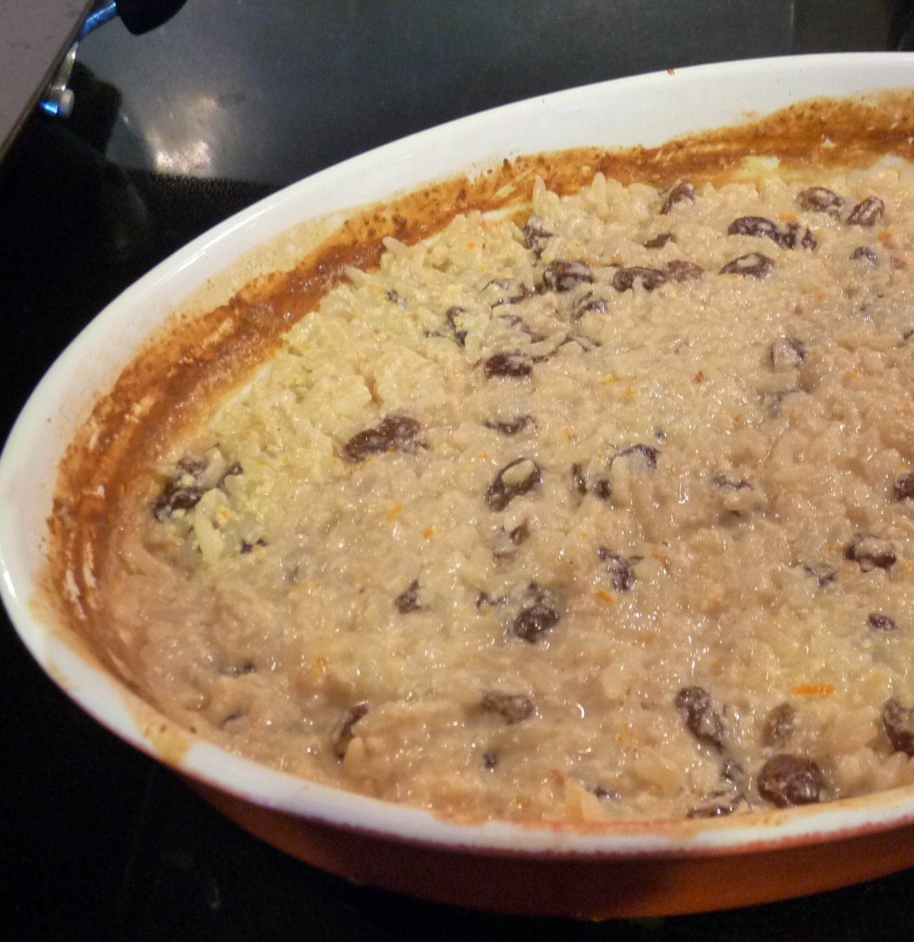 lovely shore breeze....: Weekend Cooking...Baked Rice Pudding
