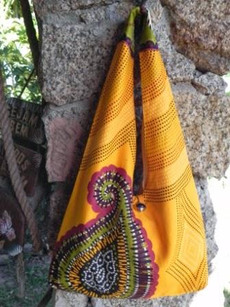 bolsa feminina amarela