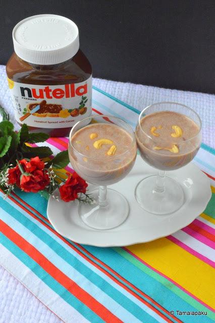Nutella Vermicelli Kheer
