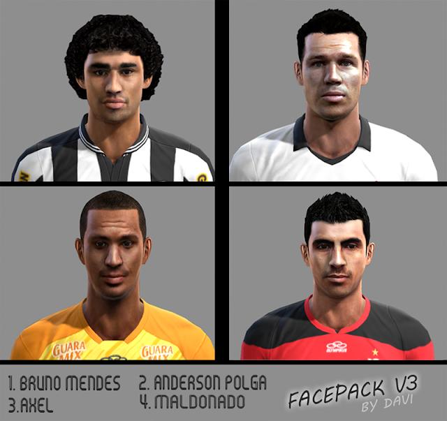 Facepack V3 - PES 2013