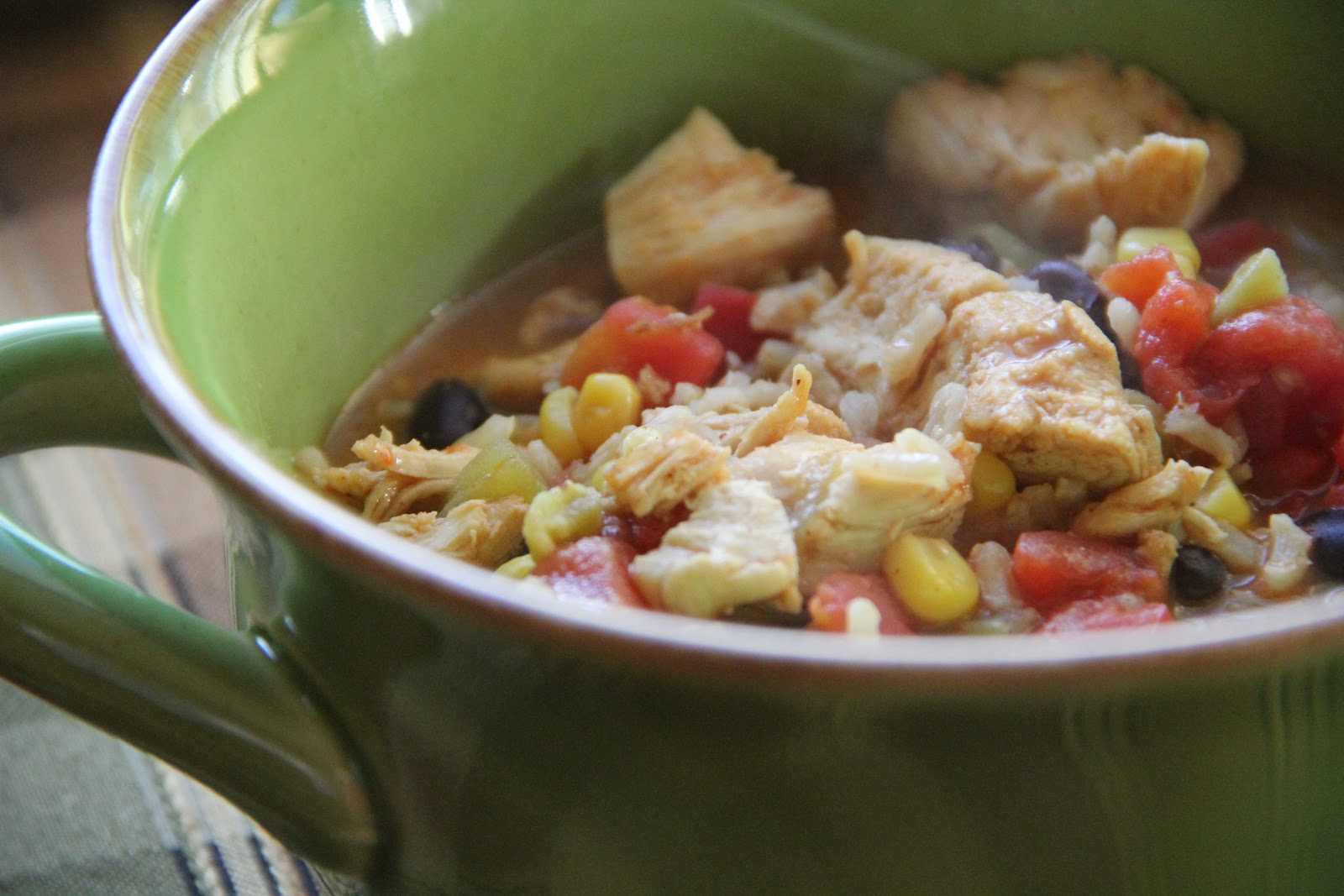 Chicken Fajita Soup Recipe Mix And Match Mama