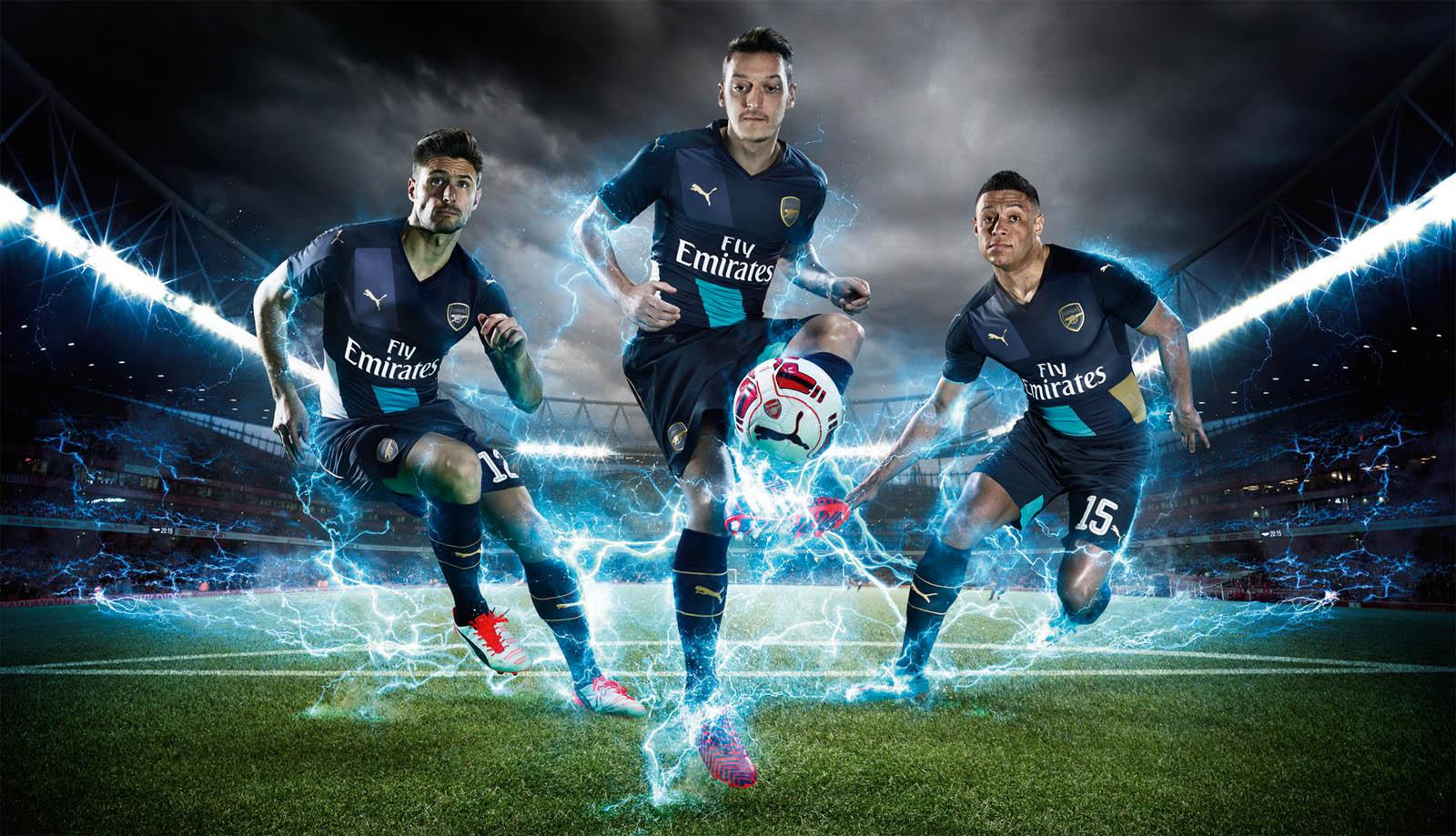 Arsenal Third Kit Jersey 2015-2016   Have a Nice Day !  nicedaysports –  Nice Day Sports 9521701c3
