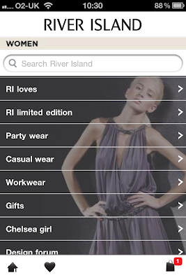 River Island app