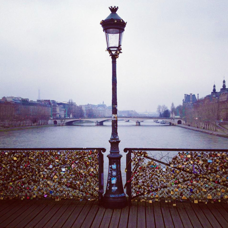I am just a visual person urban landscapes lovers 39 lock for Locks on the bridge in paris