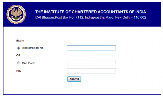 ICAI CA Final and CA IPCC May 2015 Admit Card - Date Sheet