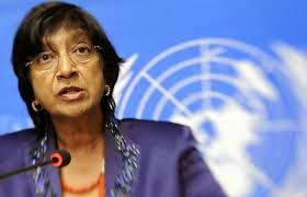 Elder Of Ziyon - Israel News: UNHRC head Navi Pillay pretends to be even handed as she bashes Israel