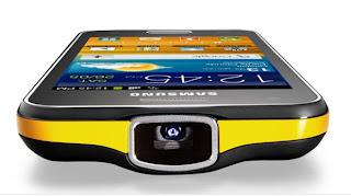 Projetor frontal do celular Samsung Galaxy Beam GT-I8530