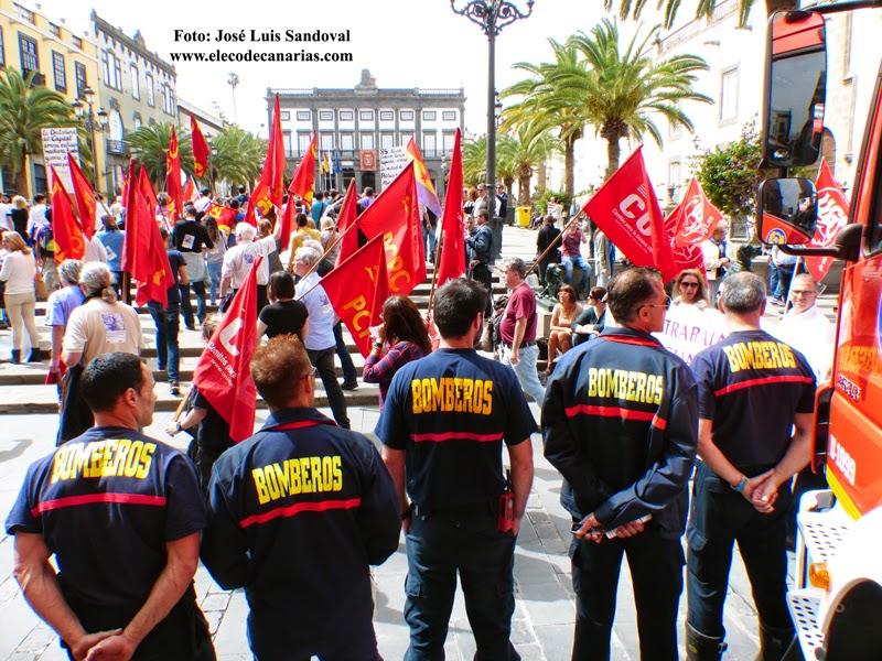 Fotos del Día de la Mujer 2015, manifestación celebrada en Las Palmas de Gran Canaria