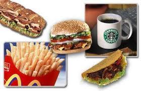 High calorie food