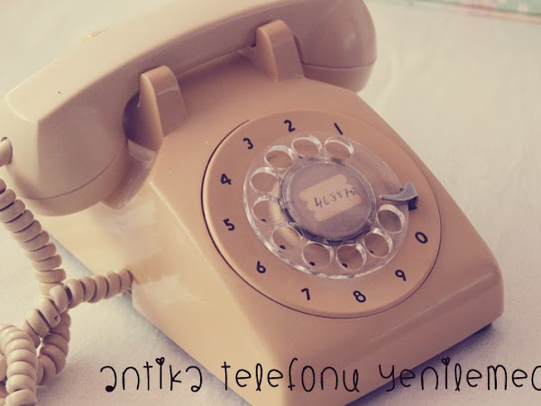 Kendin Yap | Pastel Renkli Çevirmeli Telefon