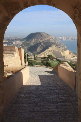 View from the castle of Santa Bárbara in Alicante