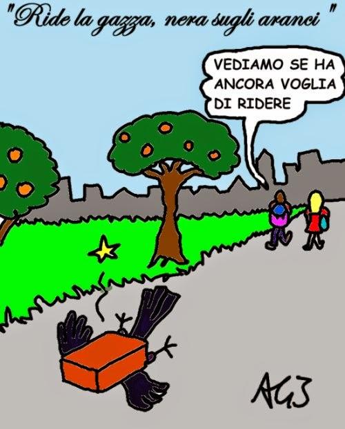 vignetta Maturità, umorismo