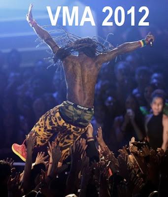 lil wayne vma 2012