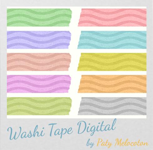 washi tape digital