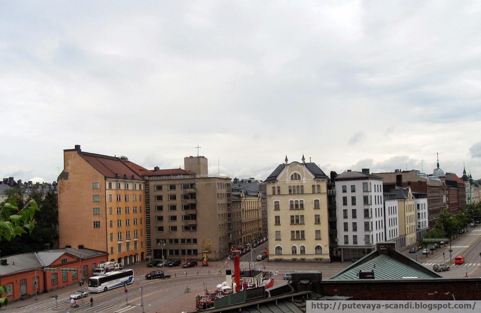 кварталы Хельсинки
