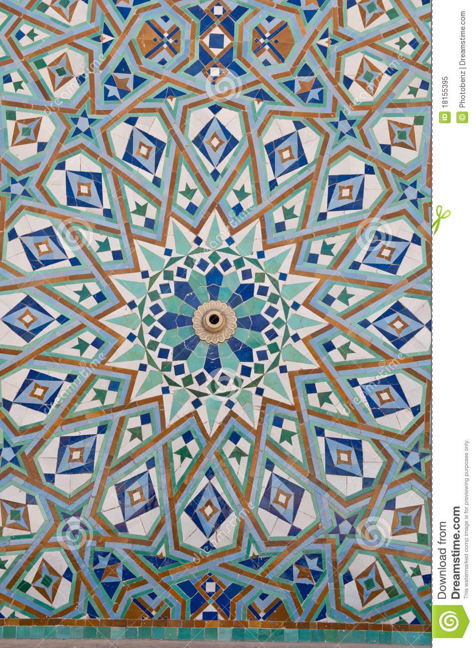 Viaje al desbordante barroco el arte musulm n - Pintura de baldosas ...