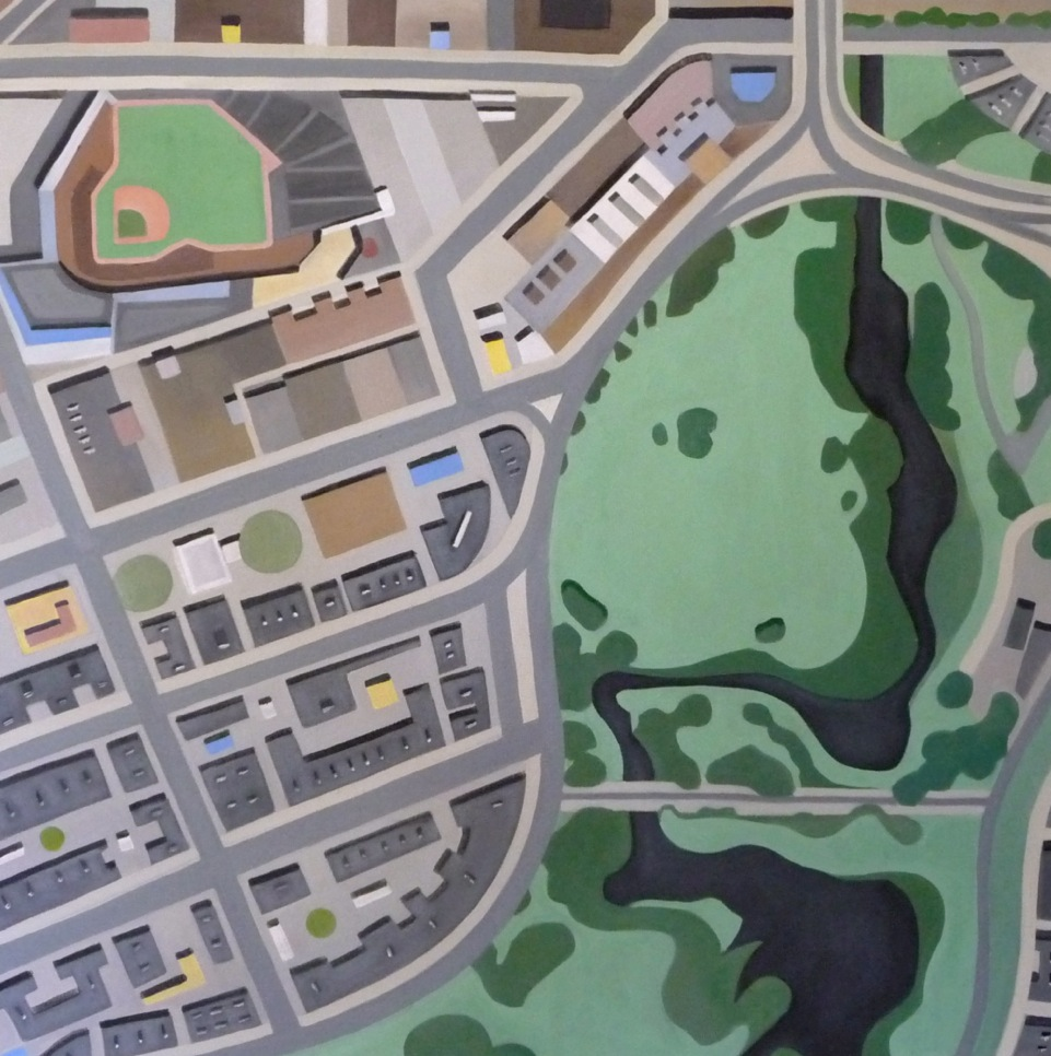 Map of the week fenway park mappy abstract art fenway park mappy abstract art altavistaventures Gallery