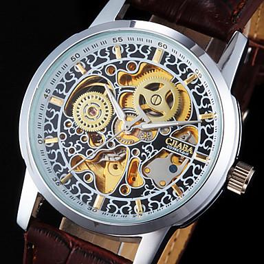 Reloj de Pulsera con Engranajes y Mecanismo