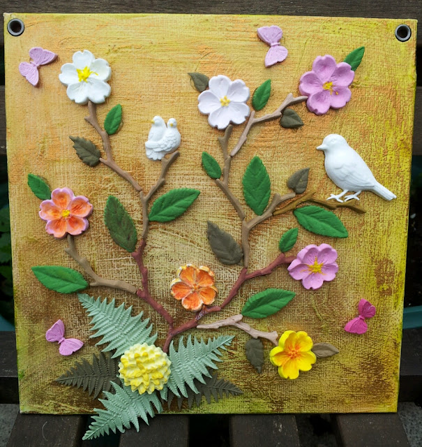 Air Dry Clay Project Ideas http://kingdomforcrafts.blogspot.com/2013/05/martha-stewart-air-dry-clay-and.html