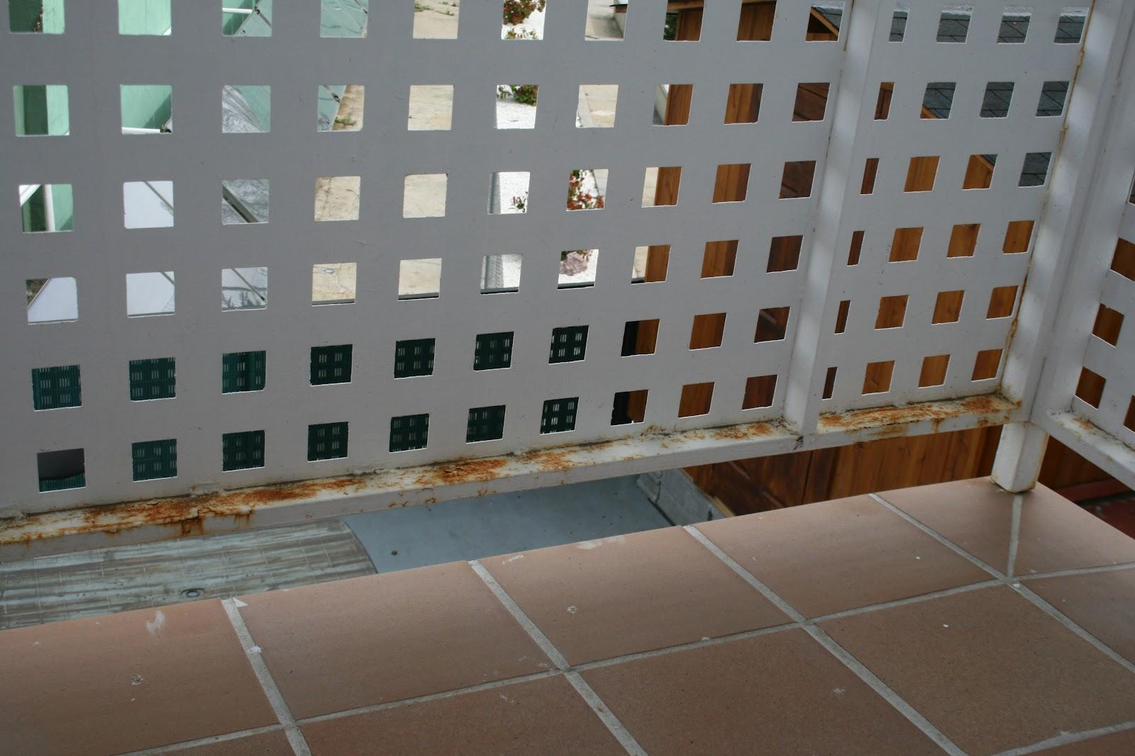 Peritararquitectura oxidaci n de barandillas - Barandillas de obra ...