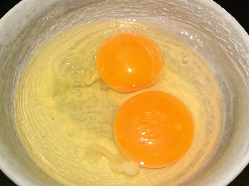 sukiyaki eggs mixed sauce
