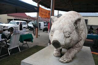 Wombat, Trentham