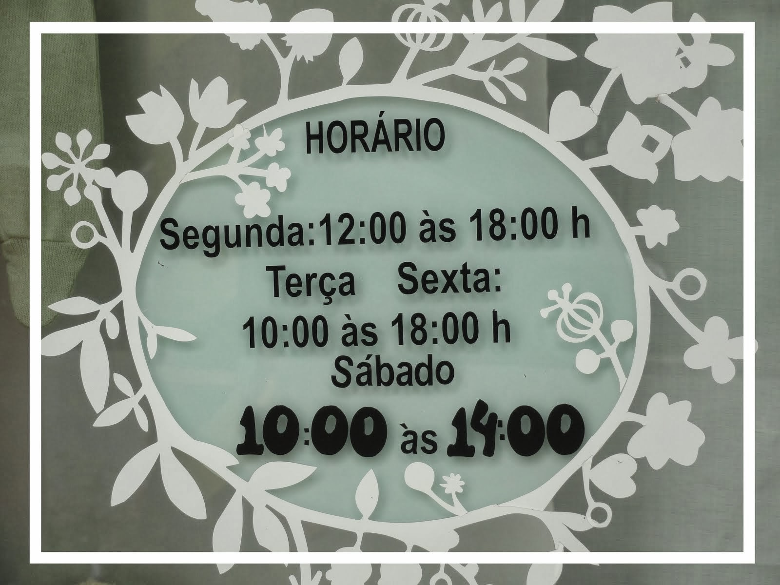 HORÁRIO