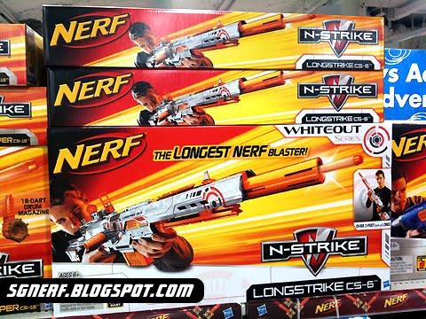 SG Nerf: Nerf N-Strike Elite Stockade in Singapore!